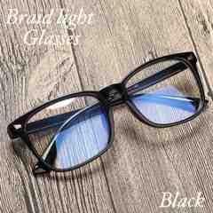 ウェリトン メガネ ブルーライトカット 伊達眼鏡 PC用メガネ 黒
