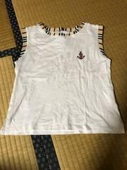 Burberry バーバリー タンクトップ Tシャツ 三陽商会 日本製 140