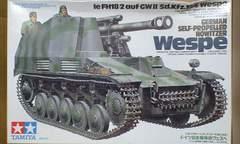 1/35 タミヤ ドイツ 自走榴弾砲 ヴェスペ