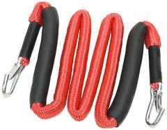 伸びるロープ2.5m-最長6m RED
