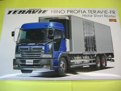 アオシマ ヘビーフレイト02 日野 プロフィアテラヴィFR ハイスター短尺冷凍バン&サーモキング