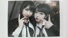 即決 AKB48 UZA サークルK・サンクス特典写真 柏木由紀 峯岸みなみ