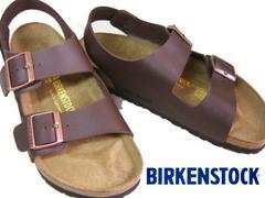 BIRKENSTOCKビルケンシュトック新品MILANOミラノ034701濃茶41