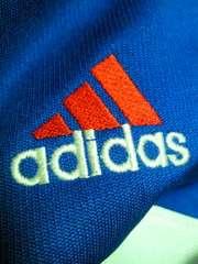 adidas アディダス レトロ ジャージ 上着 ブルー ホワイト レッド O-XO ジャンパー