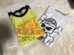 子供用  adidas ナイキTシャツ  adidas 150 ナイキMサイズ