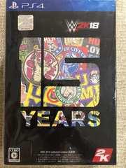 WWE 2K18 コレクターズエディション 新品未開封 PS4