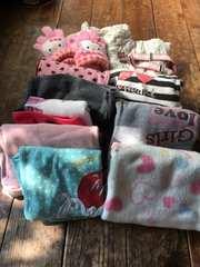 110〜130 女の子 アウター有 秋冬物9枚+新品ベルト、手袋