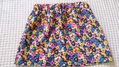 ◆新品JURIANO JURREI花柄ミニスカート◆9