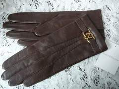 ピンキー&ダイアン ブラウン手袋&プレート