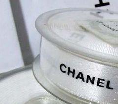CHANEL シャネル 白 リボン 1巻3m新品 幅2cm