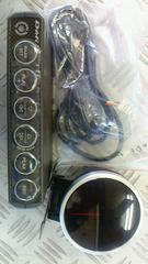 Defiブースト計(ホワイト)&ブーストコントロールユニットディフィメーターボ頭文字D/欠品