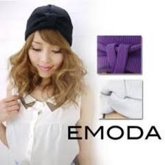 エモダ EMODA ニットcap 帽子