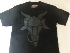 USA購入 アメカジ【Vans】バンズ イラストプリントTシャツUS S黒