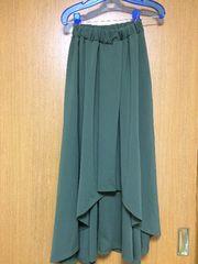新品タグ付き:アズノゥアズ:フレアースカート
