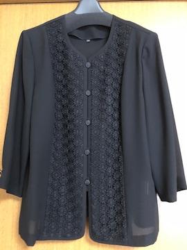 新品未使用:冠婚葬祭:ブラックフォーマル:ジャケット
