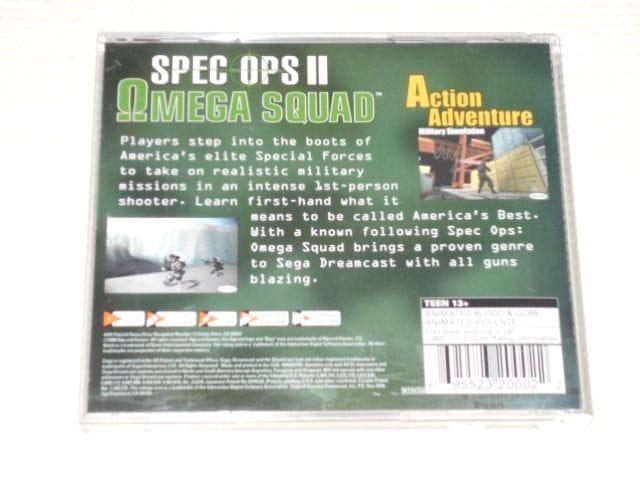 DC★SPEC OPS 2 OMEGA SQUAD 海外版 < ゲーム本体/ソフトの