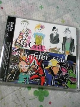 初回CD+DVDSaGa Brighter side