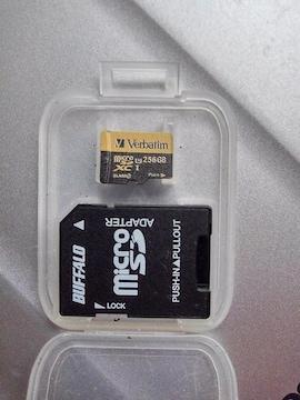 Verbatim MicroSDカード256GB※送料込♪