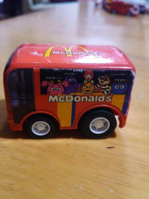 チョロQ.マクドナルド車。  < ホビーの