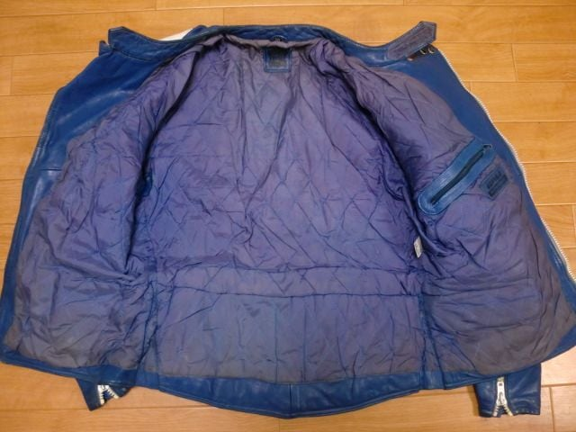 ヨーロッパ JUMBO レザー ライダースジャケット 50 L < 男性ファッションの