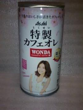 WONDA 特製カフェオレAKB48限定デザイン缶 大島優子