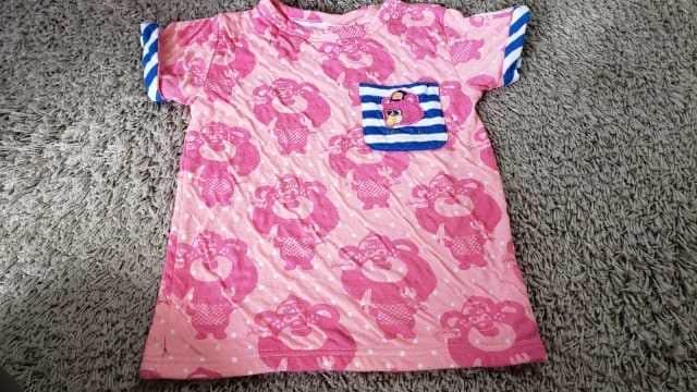★JAM★ふんわり厚め生地★総柄Tシャツ★サイズ120★  < ブランドの