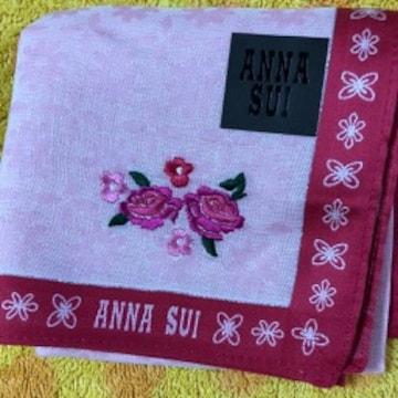 アナスイ ハンカチ p薔薇刺繍
