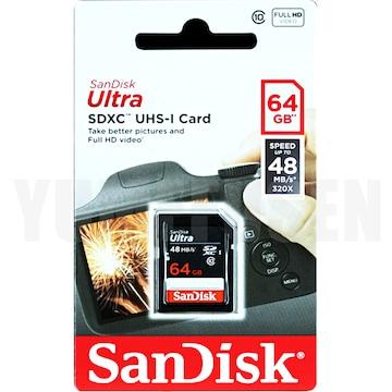 照会配送 SANDISK SDXCカード64GB Class10 クラス10 DSiLL DSi 3DSに