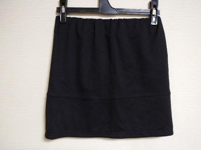 used美品☆[LIPSERVISE]シンプルで、メチャ使える!ストレッチ miniスカート☆  < ブランドの