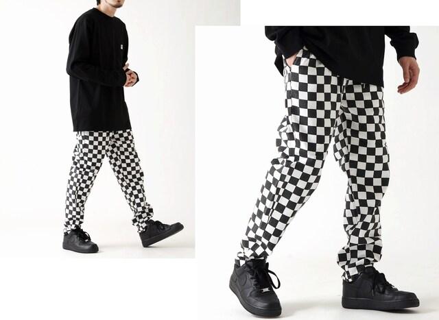 超人気!!ワイドコックパンツ/シェフパンツ/4柄【M-L】 < 男性ファッションの