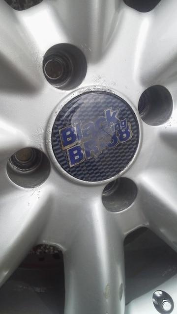 軽carで使用希少ブラックレーシング引っ張りバリ溝 165/45R15 < 自動車/バイク