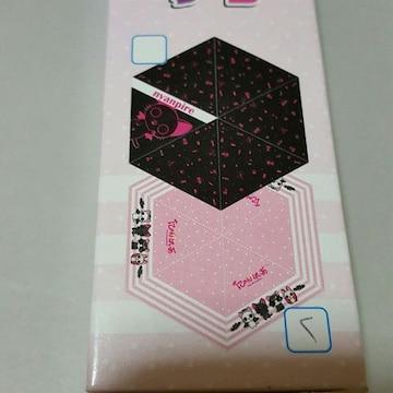 新品〓にゃんぱいあ★折りたたみ傘♪ピンク