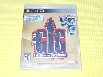 PS3★RISE OF THE SIXSTRING GIG