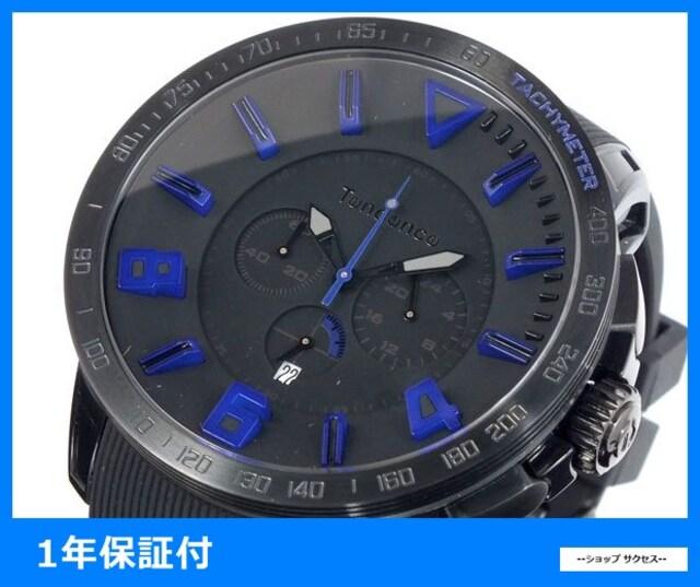 新品 即買い■テンデンス ガリバー腕時計 TT560004 ブラック  < ブランドの
