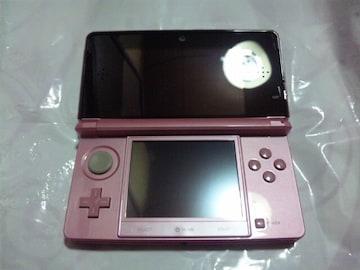 【3DS】ニンテンドー3DS本体 ミスティピンク(箱説付)