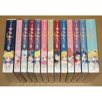 新品 美少女戦士セーラームーンCrystal Blu-ray 初回全13巻