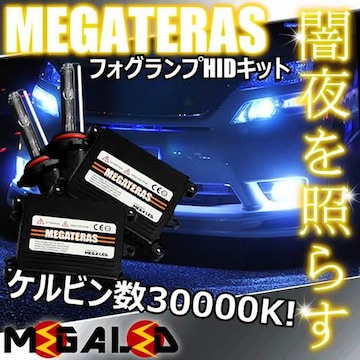 mLED】アルファード10後期/フォグランプHIDキット/HB4/30000K