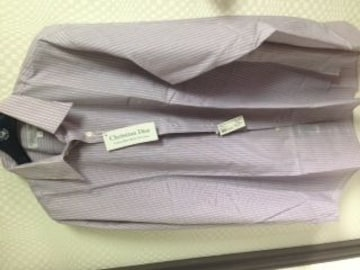 新品未使用クリスチャンディオール長袖シャツ41