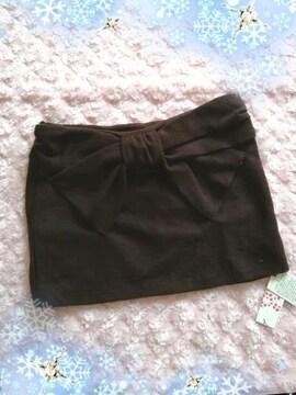 新品☆Lans*バックでかリボンスカート