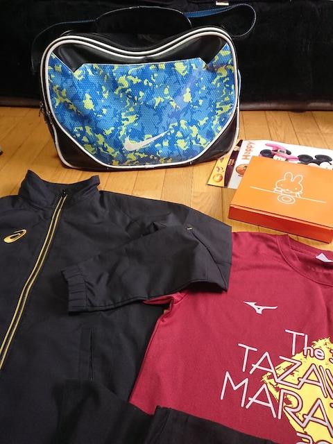 NIKE ナイロンバック adidas MIZUNO asics 衣類 食器 < 男性ファッションの