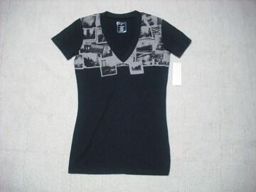 96 女 ZOO YORK ズーヨーク 黒 Tシャツ S