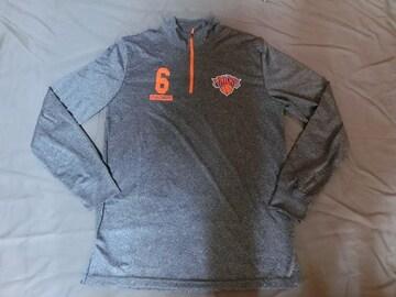 【NY Knicks】ポルジンギスジップ式ロングTOPS US S