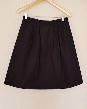 大きいサイズ  タフタ素材スカート