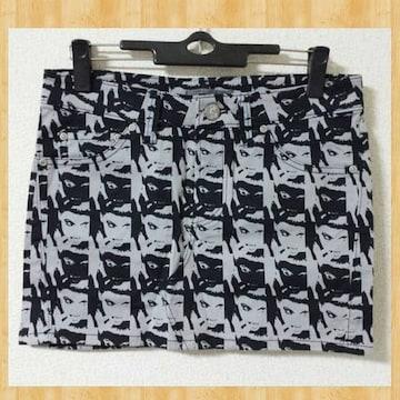 購入20000円 AULA AILA アウラアイラ ミニスカート 未使用 2 グレー
