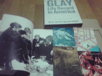 美品.送料込  GLAY Life Record in America 写真集