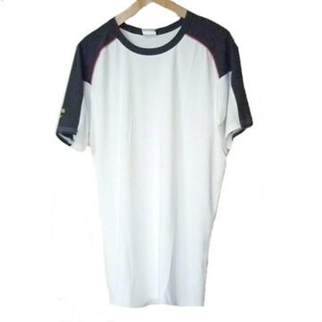 新品◆adidas白プロフェッショナルTシャツ(L)