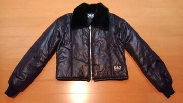 D&GディーアンドジーDOLCE&GABBANAドルガバ★ファーショート丈ブルゾンジャケットコート
