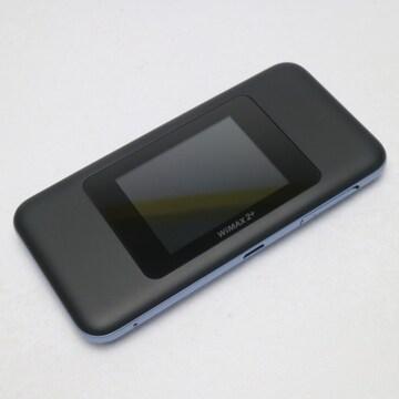 ●新品同様●UQmobile Speed Wi-Fi NEXT W06 ブラック×ブルー●