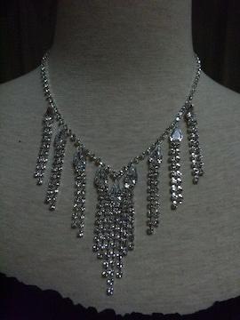 パーティ、結婚式☆ネックレス 真鍮