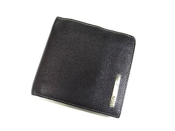 ☆送料込☆カルティエ サントス 小銭入れ付き折り財布 ブラック